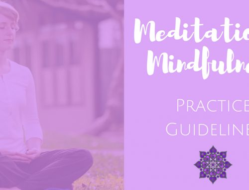 Meditation Practice Guidelines