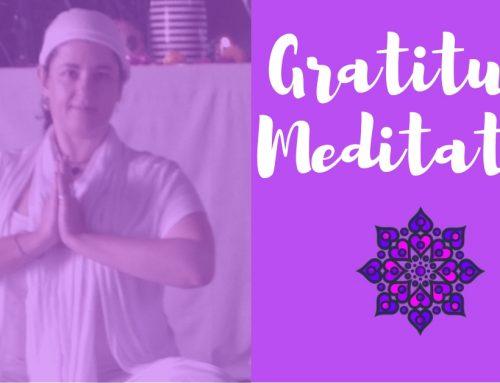 End Of Year Gratitude Meditation
