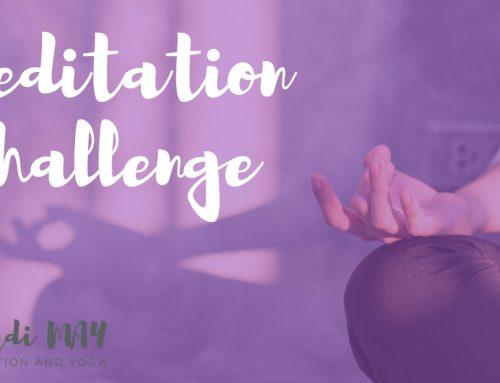 Meditation Challenge – So Hum