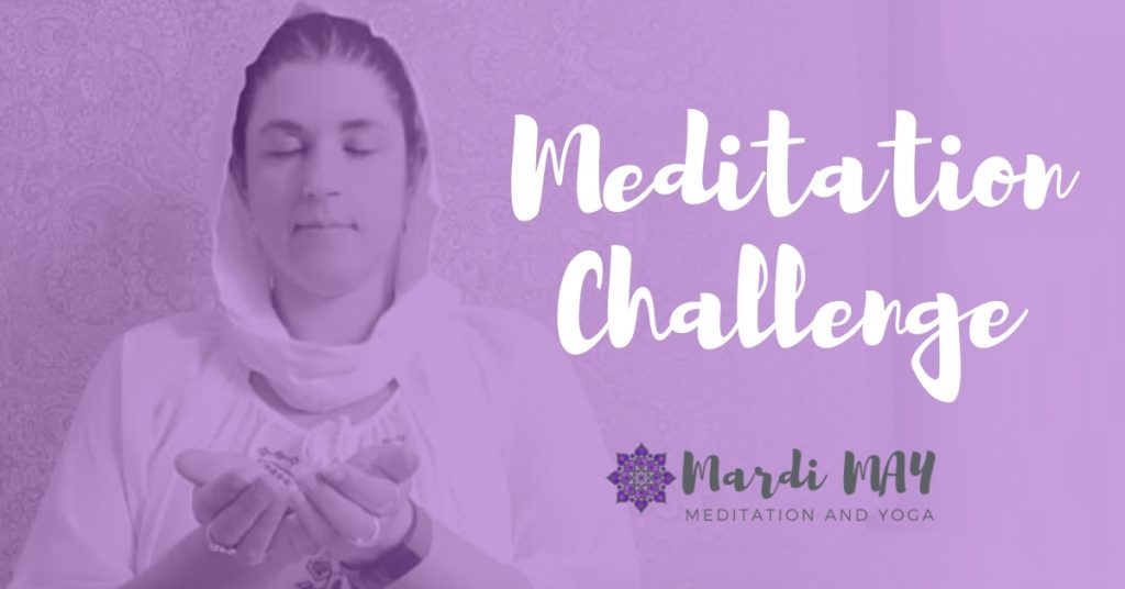 Meditation Challenge Simple Blessings